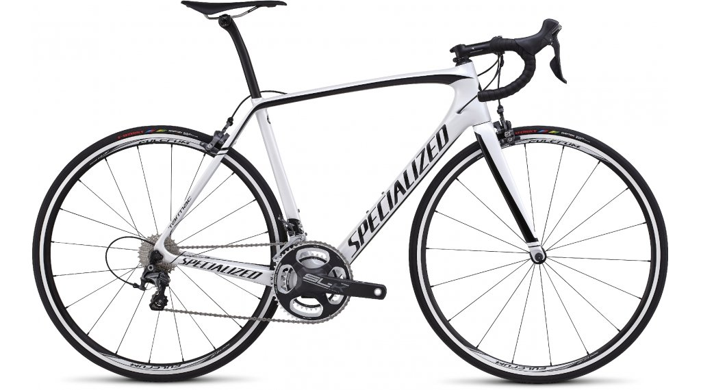 Specialized tarmac expert rennrad komplettbike gr 49cm metallic white