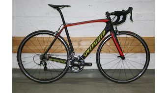 Specialized Tarmac Expert Rennrad Komplettbike Gr. 56cm carbon/red/hyper green Mod. 2016 - TESTBIKE