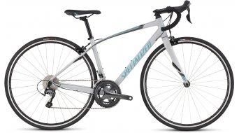 Specialized Dolce Elite Rennrad Komplettrad Damen-Rad satin filthy white/silver/pearl turqoise Mod. 2016