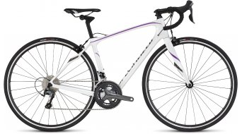 Specialized Ruby Rennrad Komplettbike Damen-Rad gloss metallic white/deep pearl fuschia/charcoal Mod. 2016