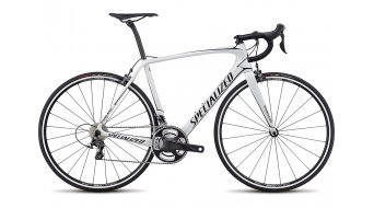 Specialized Tarmac Expert 28 Rennrad Komplettbike metallic white/tarmac black Mod. 2017 - TESTBIKE