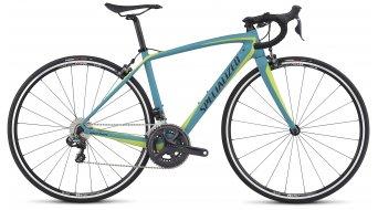 Specialized Amira SL4 Comp Ultegra Di2 28 Rennrad Komplettbike Damen-Rad turquoise/hyper green/black Mod. 2017