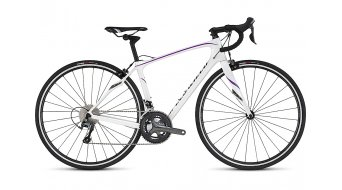 Specialized Ruby Rennrad Komplettrad Damen-Rad gloss metallic white/deep pearl fuschia/charcoal Mod. 2017
