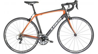Trek Domane 4.5 E Compact Rennrad dnister black/rhymes with orange Mod. 2014