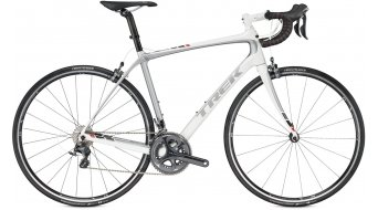 Trek Domane 5.2 compact road bike bike size 56cm crystal white/bright silver 2016