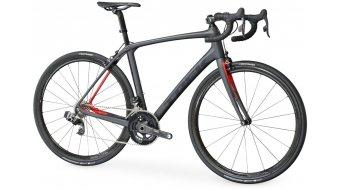 Trek Domane SLR 9 eTap bici carretera bici completa matte dnister negro/viper rojo Mod. 2017