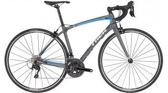Trek Silque S 5 WSD bici carretera bici completa Señoras-rueda matte metallic charcoal/waterloo azul Mod. 2017