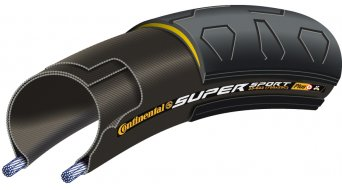 Continental SuperSportPlus PlusBreaker Touring-City bike- wire bead tire black 3/84tpi