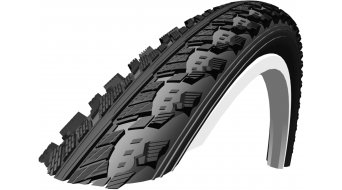 Schwalbe Hurricane Performance RaceGuard wire bead tire 42-622 (28x1.60/700x40C) dual-compound black-reflex 2016