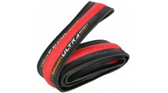 Continental Ultra Sport cubierta(-as) plegable(-es) 23-622 (700x23C) rojo/negro skin