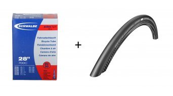 Schwalbe One Evolution V-Guard cubierta(-as) plegable(-es) OneStar-Compound Mod. 2016 + GRATIS SV20 cámara