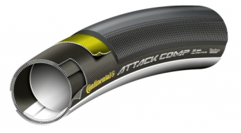 Continental Grand Prix Attack Comp VectranBreaker tubular (28x22mm) black 3/180tpi BlackChili-compound