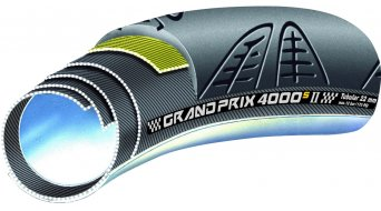 Continental Grand Prix 4000 S II VectranBreaker tubular 28x22mm black 4/240tpi BlackChili-compound