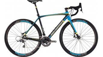 Bergamont Prime CX Team 700C Cyclocrosser Komplettbike Herren-Rad carbon/cyan/neon yellow/white matt Mod. 2016