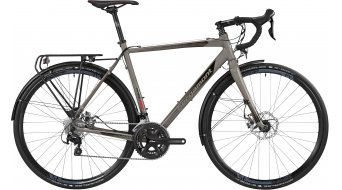 Bergamont Prime CX RD Cyclocross bici completa da uomo mis. 56cm lava grey/black/red mod. 2016