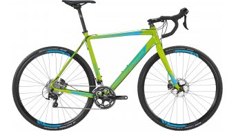 Bergamont Prime CX Cyclocross Komplettbike Herren-Rad apple green/cyan Mod. 2016