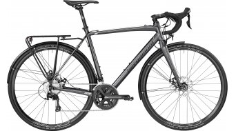 Bergamont Prime CX RD 28 Cyclocross bike grey/black (matt) 2017