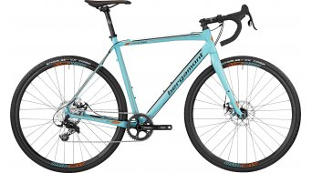 Bergamont Prime CX Sport Cyclocross bike coral blue/orange (matt) 2017