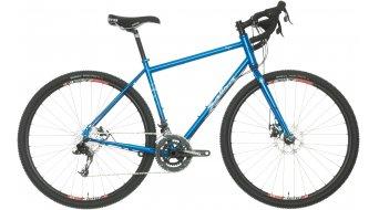 Salsa Vaya X9 700C ciklokrossz komplett kerékpár Reiserad deep blue 2016 Modell