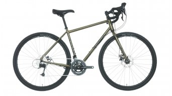 Salsa Vaya Deore 700C ciklokrossz komplett kerékpár Reiserad sötét green 2016 Modell