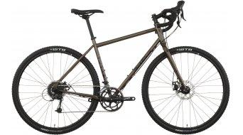 Salsa Vaya Deore 700C Cyclocrosser bici completa Reiserad dark verde Mod. 2017
