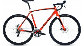 Specialized Crux E5 Cyclocrosser Komplettbike gloss mx orange/tarmac black/white/red Mod. 2016