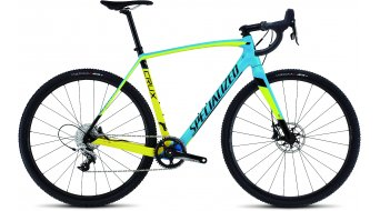 Specialized Crux Elite X1 Cyclocrosser Komplettrad gloss cyan/yellow/tarmac black Mod. 2016