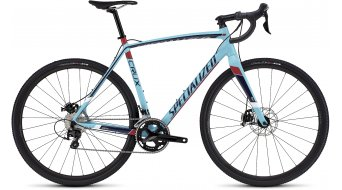 Specialized Crux Sport E5 Cyclocrosser Komplettrad gloss light blue/navy/red/black/white Mod. 2016