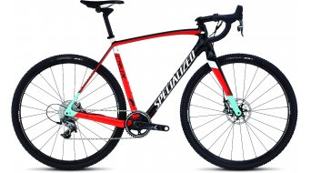Specialized Crux Expert X1 Cyclocrosser Komplettrad gloss carbon/rocket red/white/light blue Mod. 2016