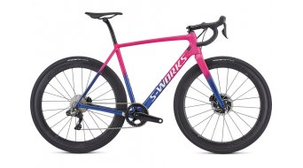 """Specialized S-Works Crux Di2 28"""" Cyclocrosser 整车 型号 acdpnk/cmln/metwhtsil 款型 2019"""