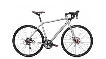 Trek CrossRip Comp Cyclocrosser bici completa . sparkling silver mod. 2016