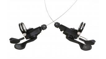 Shimano SL-RS700 Rennrad Schalthebel für flache Lenker Paar 2x11-fach schwarz (inkl.Zügen und Hülle)