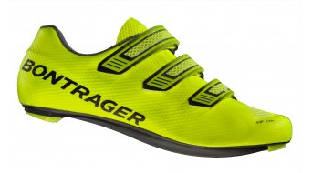 Bontrager XXX LE road bike- shoes visibility yellow