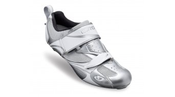 Giro Facet Tri Lady Triathlon shoes Chrome/white 2013