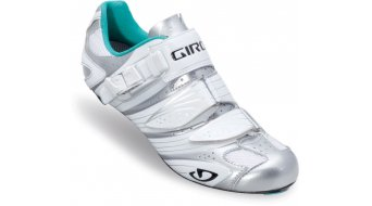 Giro Factress Lady road bike shoes Chrome/white/teal 2013