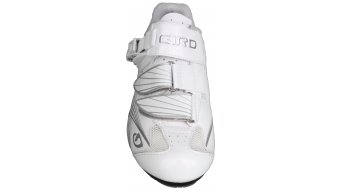 Giro Solara bici carretera-zapatillas Señoras-zapatillas tamaño 38 patent blanco/gris Mod. 2015