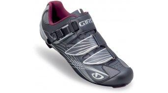 Giro Lady Solara road bike shoes gunmetal/berry 2014
