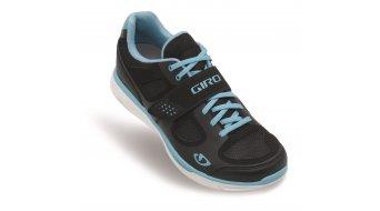 Giro Lady Whynd road bike shoes black/white/milky blue 2014