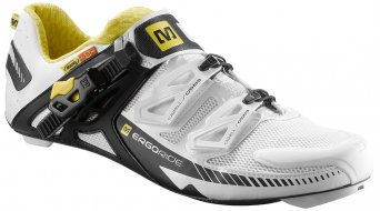 Mavic Zxellium road bike- shoes white/black/yellow Mavic