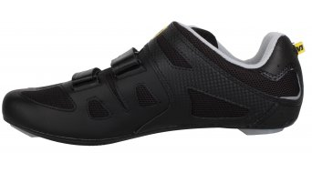 Mavic Avenge bici carretera-zapatillas tamaño 38 2/3 (5.5) negro/metallic gris/negro Mod. 2014