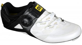 Mavic Cosmic Ultimate bici carretera-zapatillas tamaño 38 2/3 (5.5) blanco/negro