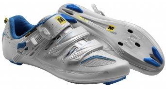 Mavic Ksyrium Elite Señoras bici carretera-zapatillas tamaño 42 (8) blanco/azul line