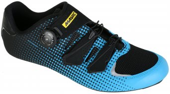 Mavic Ksyrium Haute Route road bike- shoes size 43 1/3 (9) blue/black/black