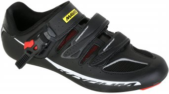 Mavic Ksyrium Elite Rennrad-Schuhe black/racing red/black