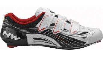 Northwave Typhoon Evo road bike shoes size 45 white/black 2012