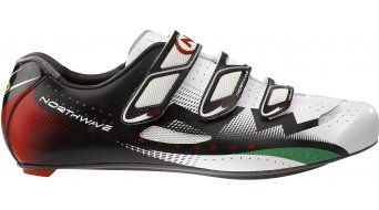 Northwave Extreme 3V road bike shoes white/red/green 2013
