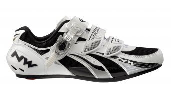 Northwave Fighter SBS road bike shoes size 46 white/silver
