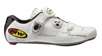 Northwave Nerowhite road bike shoes size 42 black/white
