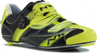 Northwave Galaxy Rennrad Schuhe Gr. 47 yellow fluo/black