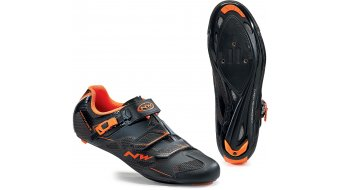 Northwave Sonic 2 SRS Rennrad Schuhe black/orange